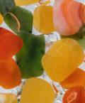 Сердолик, оранженвый кальцит и нефрит